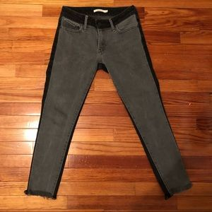 LEVIS TWO TONED JEANS